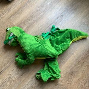 T Rex Dinosaur Rider Costume Green Size 2-3
